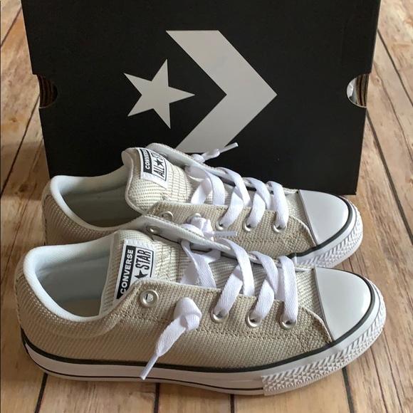 converse ctas street slip white